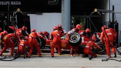 Ferrari - box - neumaticos - Malasia - 2013