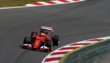 Ferrari y Haas, juntos en un 'filming day' en Montmeló