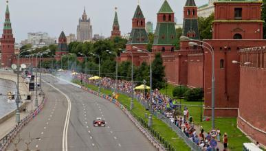 Ferrari llega a Moscú con  Marc Gené como protagonista