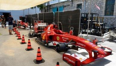 Ferrari monta una gran exhibición en Jerusalén