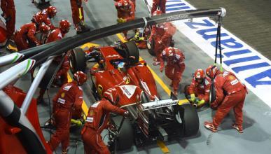Ferrari probó un nuevo aceite derivado del gas natural