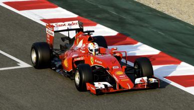 El Ferrari SF15T de Vettel se llama Eva