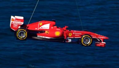 Ferrari volador Barcelona Helicoptero