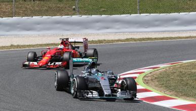 Ferrari vuelve a alejarse de Mercedes