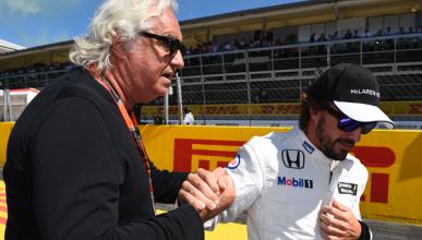 Flavio Briatore descarta el fichaje de Alonso por Mercedes