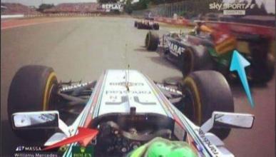Force India acusa a Massa de chocar contra Pérez en Canadá