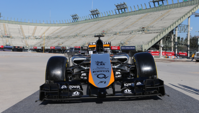 Force India, con el f1 de 2014 en los test de Barcelona