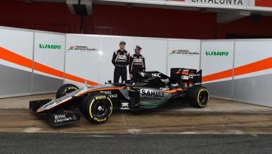 Force India VJM09: el coche de media tabla