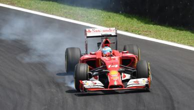 Fórmula 1: la carrera de Fernando Alonso del GP Brasil 2014