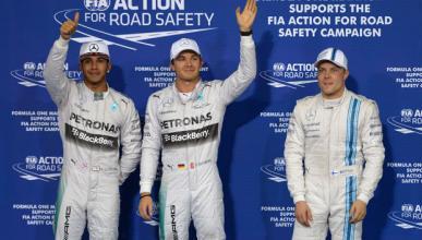 Fórmula 1: Clasificación GP Abu Dabi 2014. Pole de Rosberg