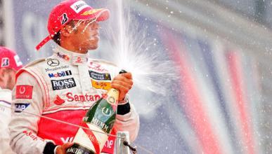 Fórmula 1: GP Gran Bretaña 2008. Hamilton se estrenó