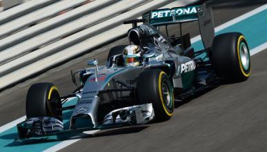 Fórmula 1: Libres 1 GP Abu Dabi 2014. Hamilton lidera