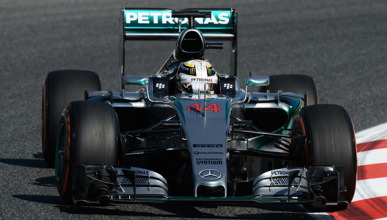 Fórmula 1. Libres 1 GP España 2015: Mercedes no falla