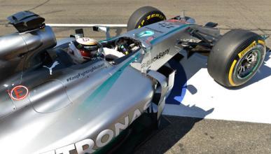 Fórmula 1: Libres 1 GP Hungría 2014. Hamilton lidera