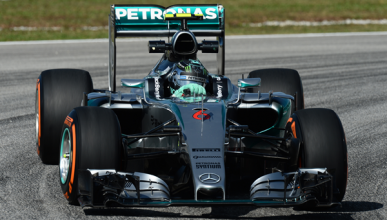 Fórmula 1. Libres 1 GP Malasia 2015: Rosberg lidera