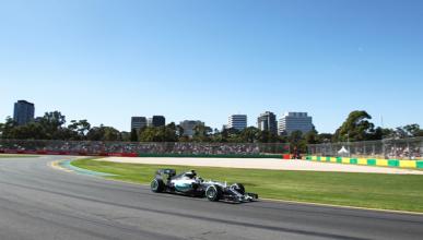 Fórmula 1. Libres 2 GP Australia 2015: Rosberg lidera