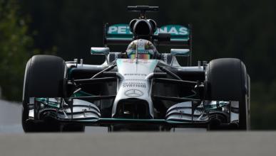 Fórmula 1: Libres 2 GP Bélgica 2014. Hamilton da la réplica