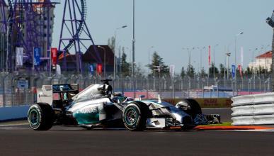 Fórmula 1: Libres 2 GP Rusia 2014. Hamilton se pone serio