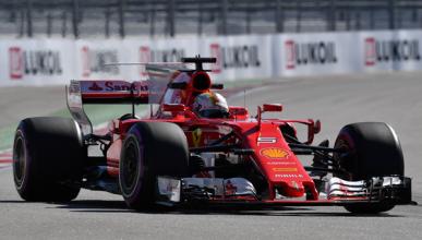 Fórmula 1. Libres 2 GP Rusia 2017: doblete de Ferrari