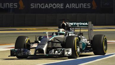 Fórmula 1: Libres 2 GP Singapur 2014. Hamilton, primero