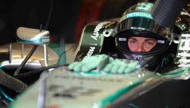 Fórmula 1: Libres 3 GP Abu Dabi 2014. Rosberg reacciona