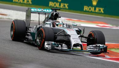 Fórmula 1: Libres 3 GP Italia 2014. Hamilton manda