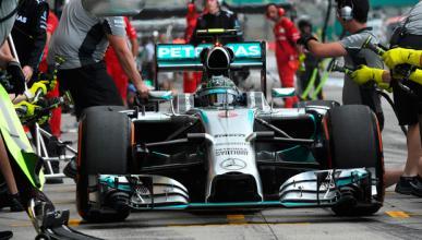 Fórmula 1: Libres 3 GP Japón 2014. Rosberg calienta la pole