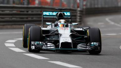 Fórmula 1: Libres 3 GP Mónaco 2014. Hamilton se prepara
