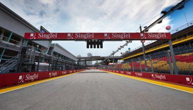 Fórmula 1: Parrilla de salida GP Singapur 2014