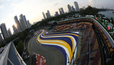 Fórmula 1: Previsión del tiempo GP Singapur 2014
