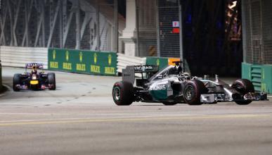 Fórmula 1: Resumen GP Singapur 2014. Hamilton líder