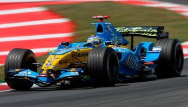Fórmula 1: victoria de Fernando Alonso en el GP España 2006