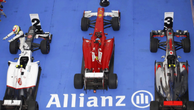 Fotomontaje - Ferrari - Sauber