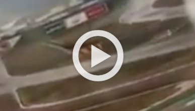 Fuerte accidente de Sebastian Vettel en un test con Pirelli