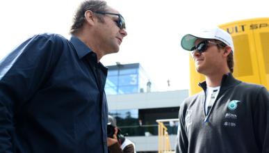 Gerhard Berger negocia el futuro de Nico Rosberg