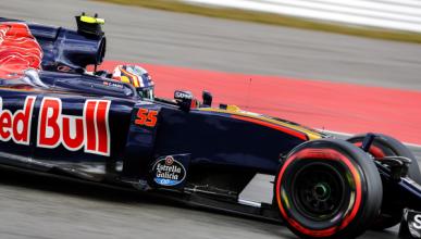 GP Alemania 2016: Sainz, sancionado con tres puestos