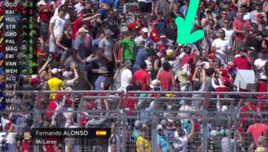 GP Canadá 2017: ¡Alonso abandona y se va a la grada!