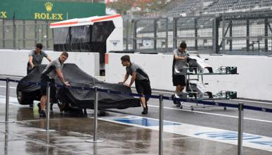 El GP Japón, en peligro por el tifón 'Phanfome'