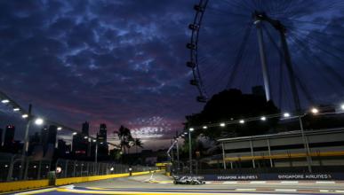 GP Singapur, entrenamientos: Mercedes lidera, no convence