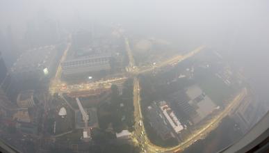 GP Singapur: una nube tóxica preocupa a la organización