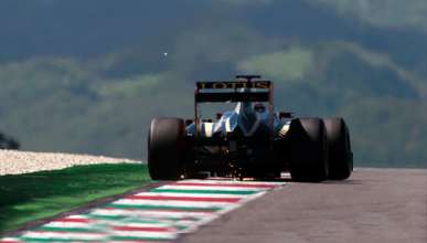 Grosjean - Lotus - Mugello