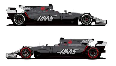 Haas F1 cambia su decoración para el resto de 2017