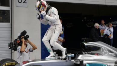 Hamilton busca el circuito correcto para cambiar de motor
