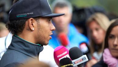 Hamilton, enfadado por el incidente con Rosberg
