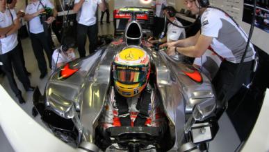 Hamilton - McLaren - Australia2012