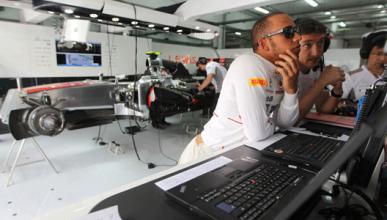 Hamilton - McLaren - Bahrein - 2012