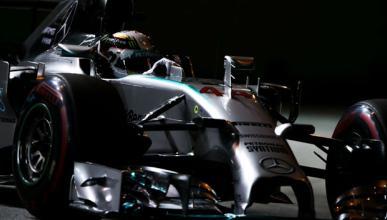 "Hamilton: ""Me pasé en la frenada de la primera curva"""