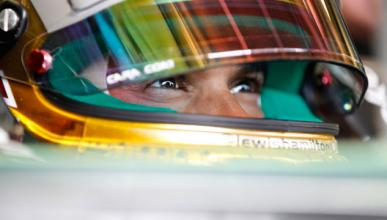 Hamilton Mercedes 2013