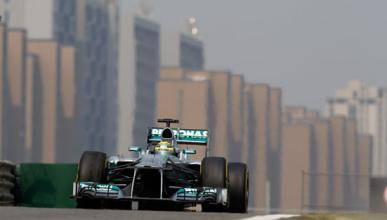 Hamilton Mercedes China 2013
