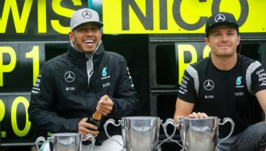 """Hamilton: """"será muy difícil ganar a Rosberg en Abu Dhabi"""""""